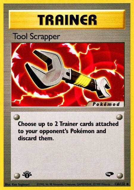 Tool Scrapper Pokémod Gym Challenge 136