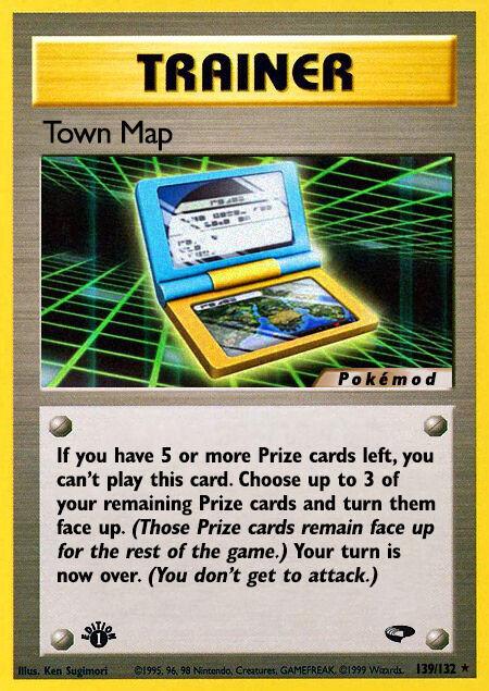 Town Map Pokémod Gym Challenge 139