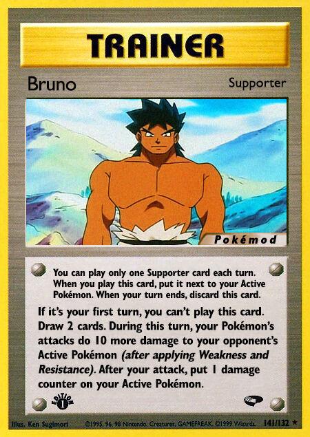 Bruno Pokémod Gym Challenge 141