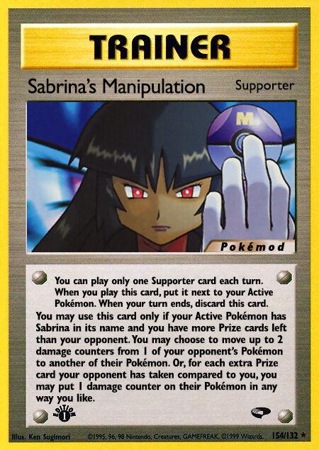 Sabrina's Manipulation Pokémod Gym Challenge 154