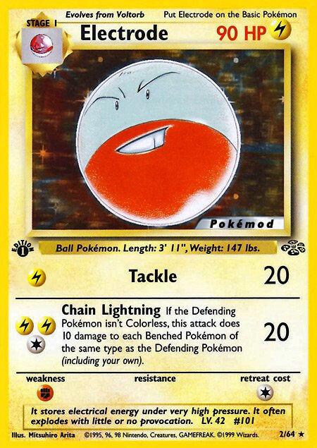 Electrode Pokémod Jungle 2
