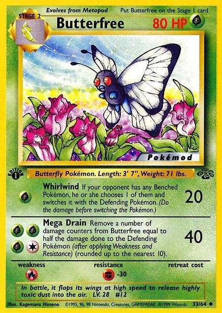Butterfree Pokémod Jungle 33