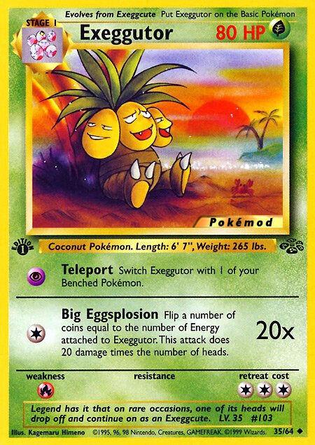 Exeggutor Pokémod Jungle 35