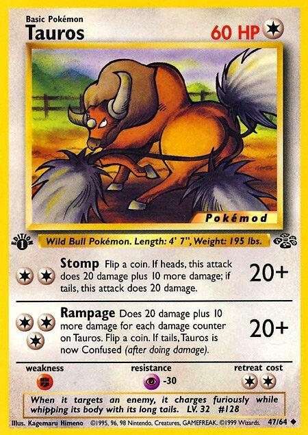 Tauros Pokémod Jungle 47