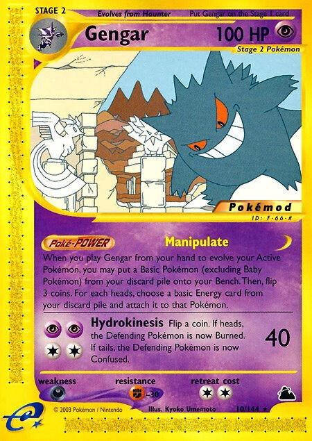 Gengar Pokémod Skyridge 10