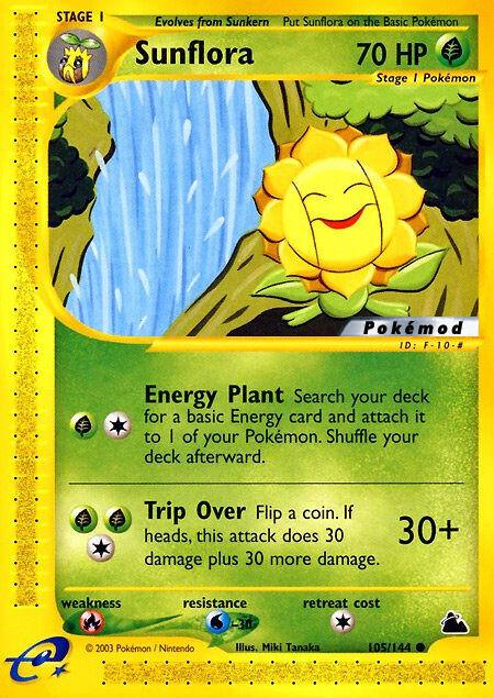 Sunflora Pokémod Skyridge 105