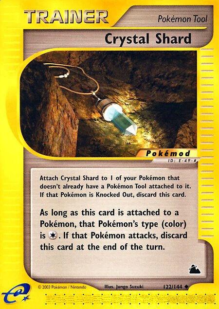 Crystal Shard Pokémod Skyridge 122