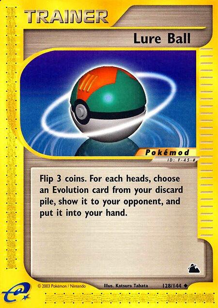 Lure Ball Pokémod Skyridge 128