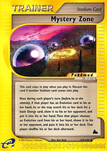 Mystery Zone Pokémod Skyridge 137