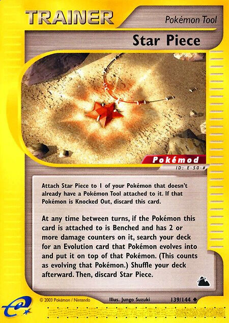 Star Piece Pokémod Skyridge 139