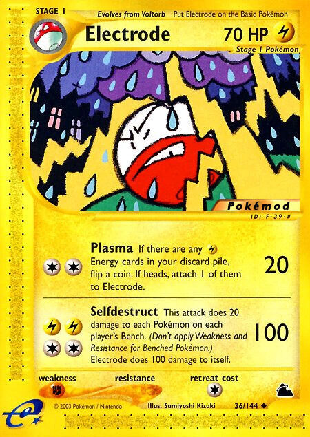 Electrode Pokémod Skyridge 36