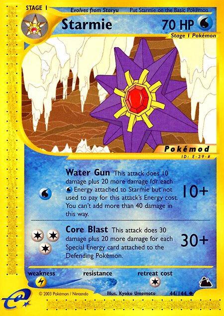 Starmie Pokémod Skyridge 44