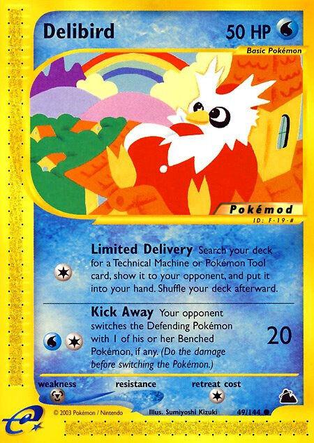 Delibird Pokémod Skyridge 49