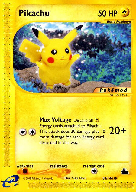 Pikachu Pokémod Skyridge 84