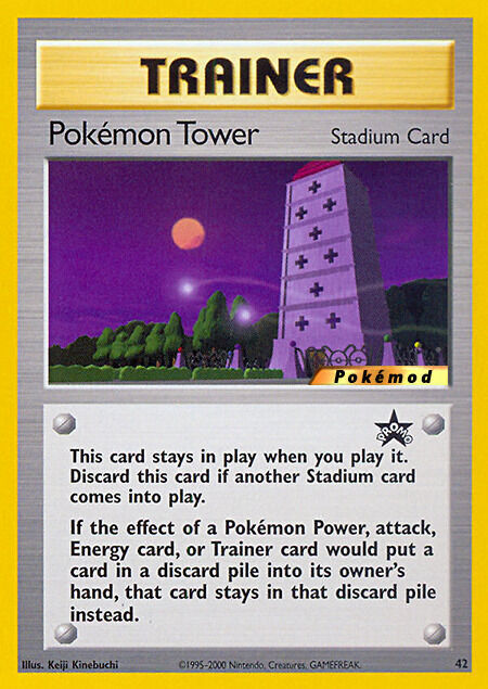 Pokémon Tower Pokémod Wizards Black Star Promos 42
