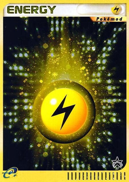 Lightning Energy Pokémod Wizards Black Star Promos 57