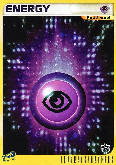 Psychic Energy Pokémod Wizards Black Star Promos 58