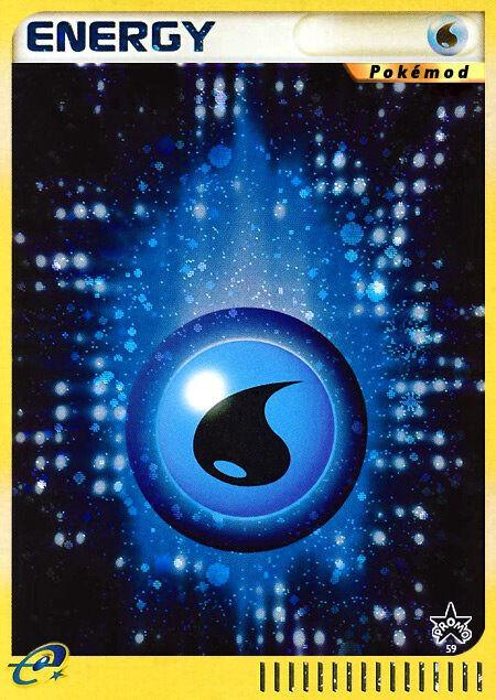 Water Energy Pokémod Wizards Black Star Promos 59
