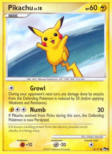 Pikachu POP Series 9 15