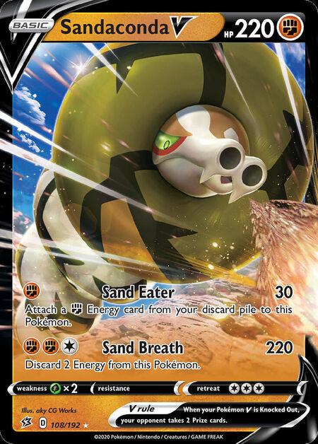 Sandaconda V Rebel Clash 108