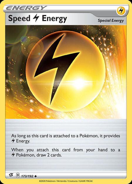Speed Lightning Energy Rebel Clash 173