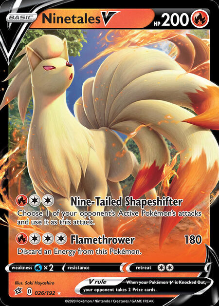 Ninetales V Rebel Clash 26