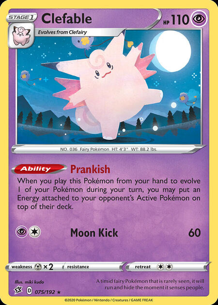Clefable Rebel Clash 75