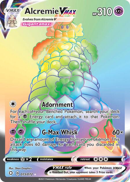 Alcremie VMAX Shining Fates 73