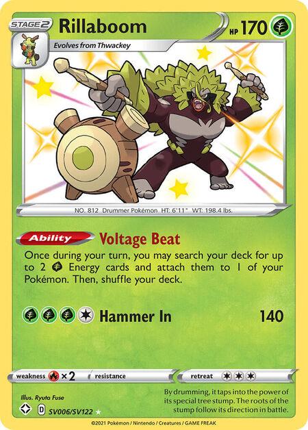 Rillaboom Shining Fates SV6