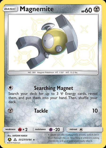 Magnemite Shiny Vault SV27
