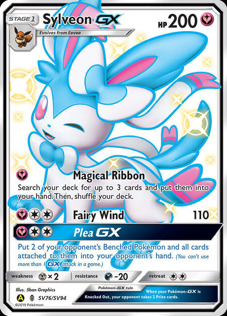Sylveon-GX Shiny Vault SV76