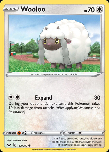 Wooloo Sword Shield 152