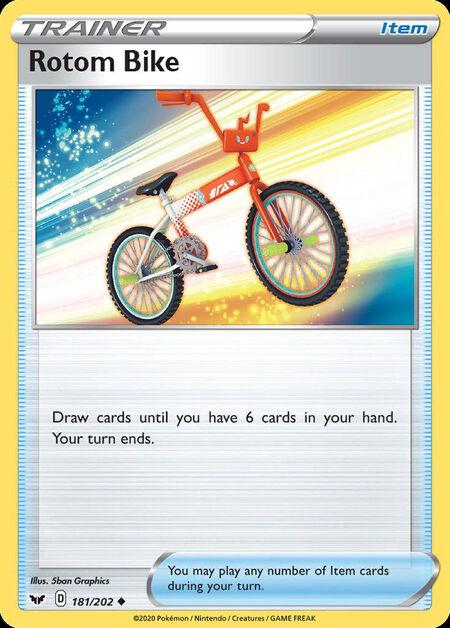 Rotom Bike Sword Shield 181