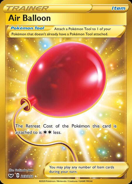 Air Balloon Sword Shield 213