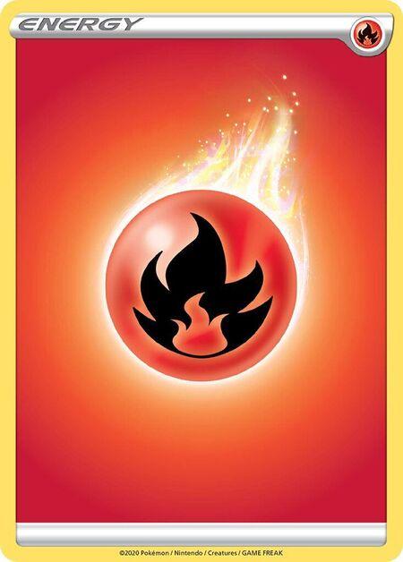 Fire Energy Sword Shield 220