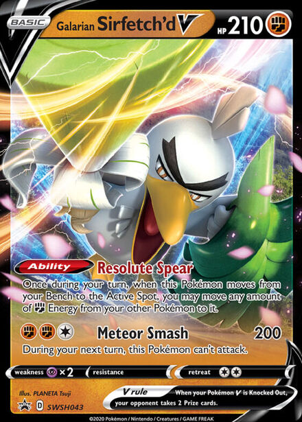 Galarian Sirfetch'd V Sword & Shield Promos SWSH043