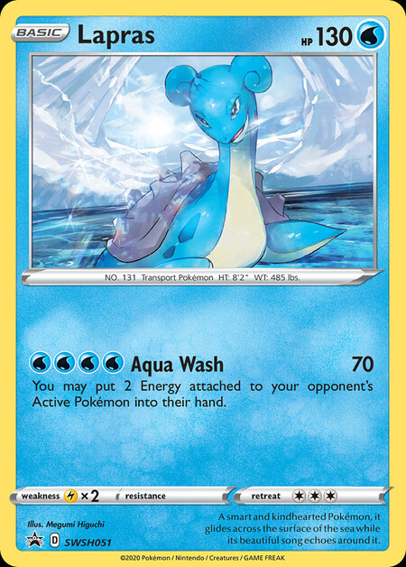 Lapras Sword & Shield Promos SWSH051