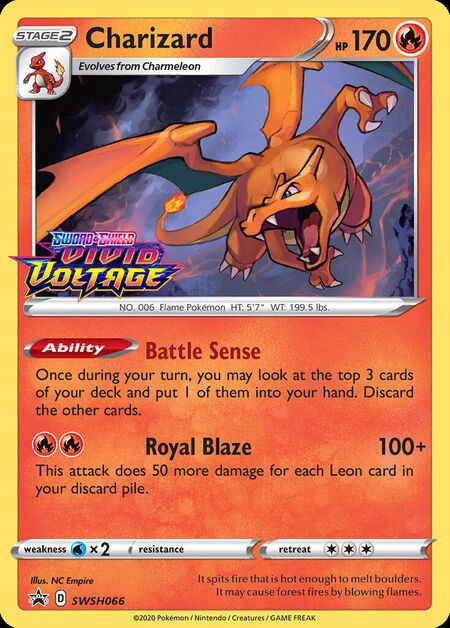 Charizard Sword & Shield Promos SWSH066