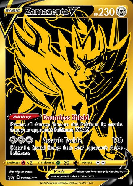 Zamazenta V Sword & Shield Promos SWSH077