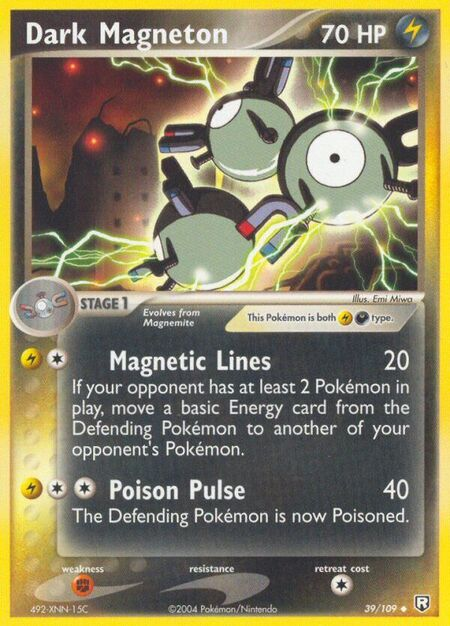 Dark Magneton Team Rocket Returns 39