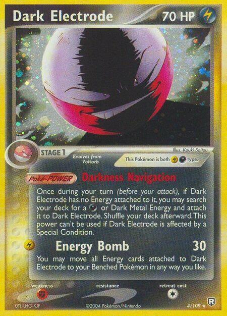Dark Electrode Team Rocket Returns 4
