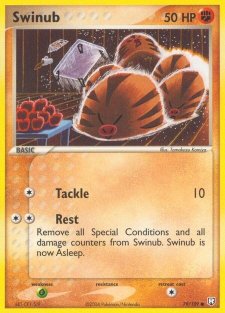 Swinub Team Rocket Returns 79