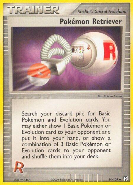 Pokémon Retriever Team Rocket Returns 84
