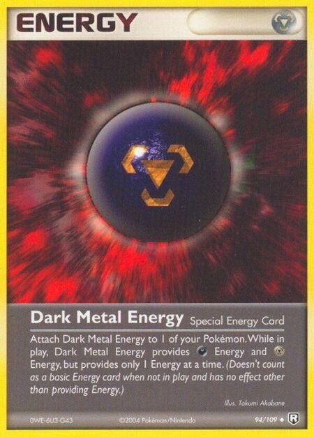 Dark Metal Energy Team Rocket Returns 94