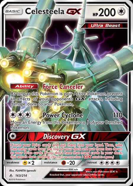 Celesteela-GX Unbroken Bonds 163