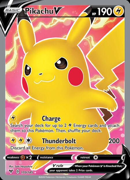 Pikachu V Vivid Voltage 170