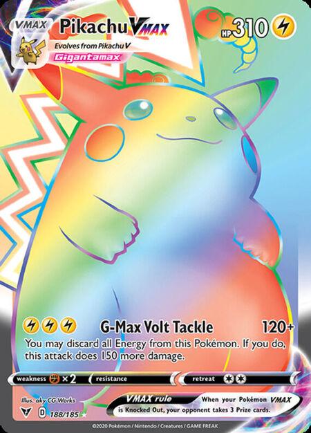 Pikachu VMAX Vivid Voltage 188
