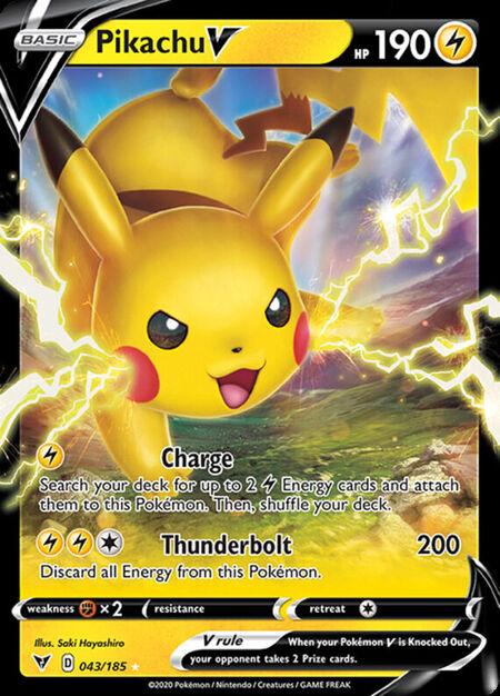 Pikachu V Vivid Voltage 43