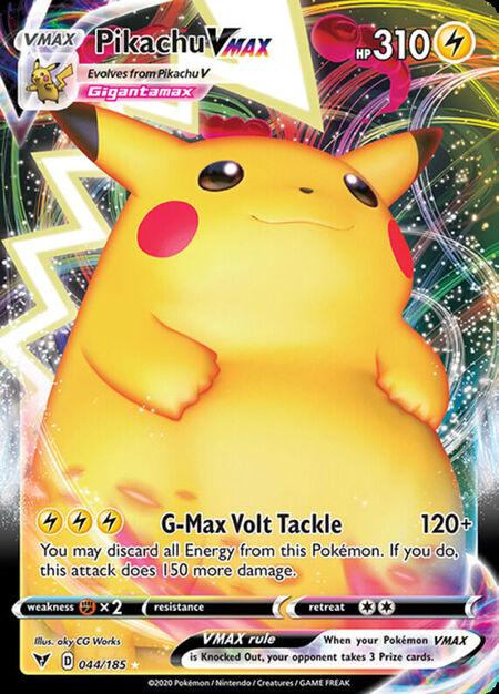 Pikachu VMAX Vivid Voltage 44