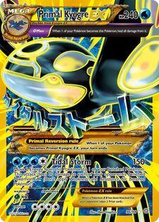 Primal Kyogre-EX (AOR 96)